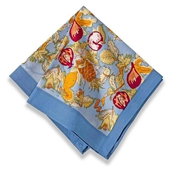 Tutti Frutti Napkins Blue & Red, Set of 6