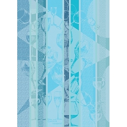 Verrerie Blue Kitchen Towel  22
