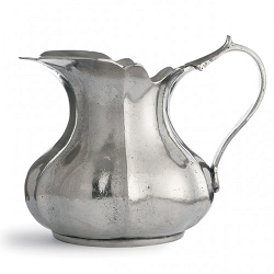 Vintage Small Scalloped Pitcher