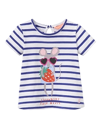 Joules Infant Pixie Mouse Shirt 3-6 month