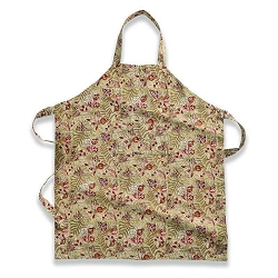 Winter Garden Wreath Apron Red & Green - 1 available