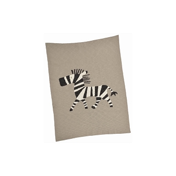 Zebra Cotton Baby Blanket