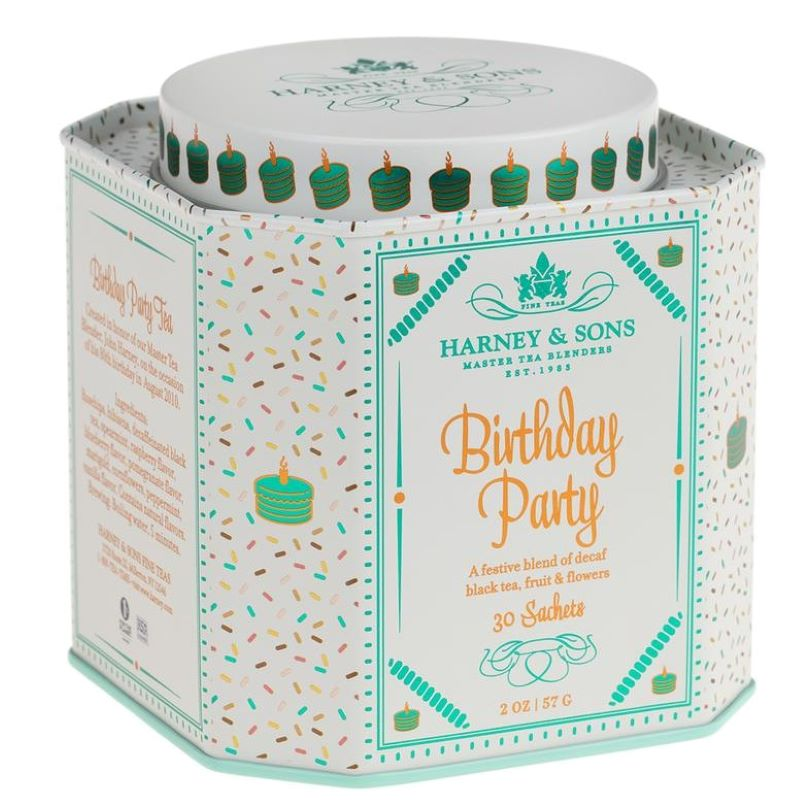 Harney and Son's Birthday Party 30 Tea Sachets