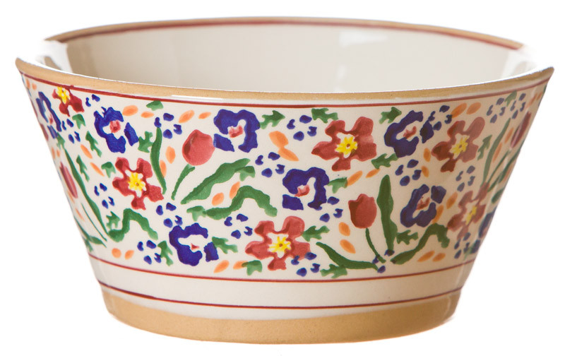 Wild Flower Meadow Small Angled Bowl