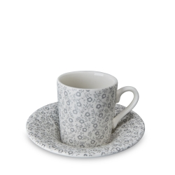 Dove Grey Felicity Espresso Cup and Saucer-6 available