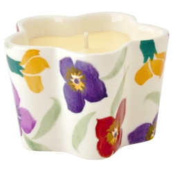 Wallflower Flower Candle