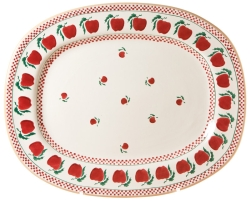 Apple Oval Platter-