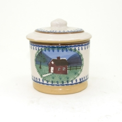 Farmhouse Lidded Sugar Pot