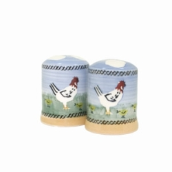 Hen Salt  and  Pepper Shakers