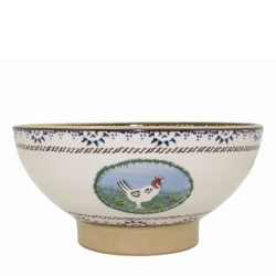 Landscape Mixed Animal Salad Bowl