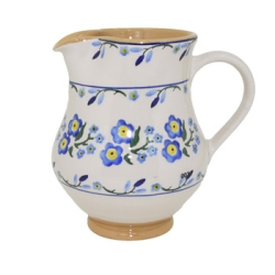 Forget Me Not Medium Jug