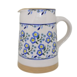 Forget Me Not Medium Cylinder Jug (Retired Size)