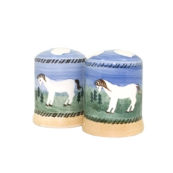 Pony Salt  and  Pepper Shakers