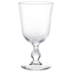 Arabella Clear Footed Goblet