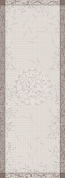 Persephone Sepia Table Runner Green Sweet 22