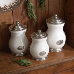 Arte Italica Tuscan Canister Set/3