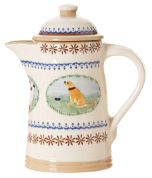 Landscape Mixed Animal Coffee Pot
