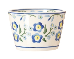 Forget Me Not Custard Pot