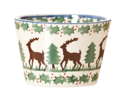 Reindeer Custard Pot