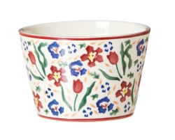 Wild Flower Meadow Custard Pot