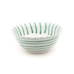 Dizzy Green Classic Salad Bowl 10.2