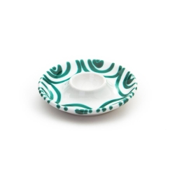 Dizzy Green Egg Cup with Deposit