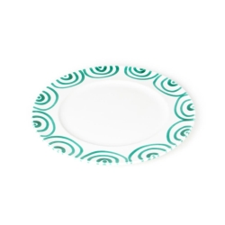 Dizzy Green Gourmet Dinner Plate 10.6''