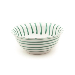 Dizzy Green Classic Salad Bowl 7.9