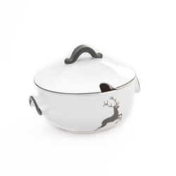 Grey Deer Soup Tureen