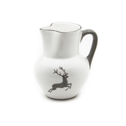 Grey Deer (Stag) Pitcher 34 oz