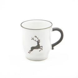 Grey Deer Coupe Chocolate Mug