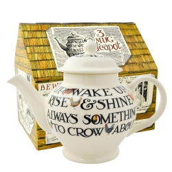 Hen and Toast 3 Mug Teapot