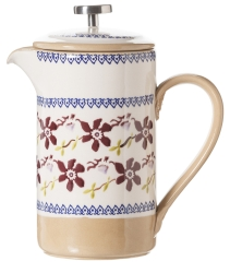 Clematis Large Cafetiere Pot  , French Press