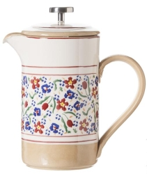 Wild Flower Meadow Large Cafetiere Pot