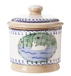 Duck Lidded Sugar Pot