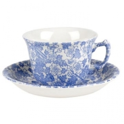 Burgess Chintz Teacup and Saucer