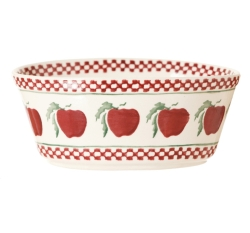 Apple Small Oval Pie Dish