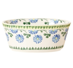 Clover Small Oval Pie Dish