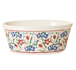 Wild Flower Meadow Small Oval Pie Dish