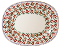 Sold Out Old Rose Oval Platter