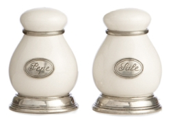 Arte Italica Tuscan Salt  and  Pepper