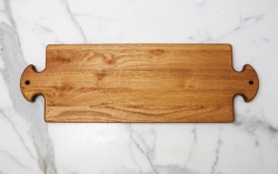 Wooden Large Double Handle Patisserie Board