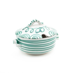 Dizzy Green Soup Tureen