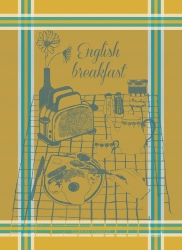 English Breakfast Curry Kitchen Towel Retired