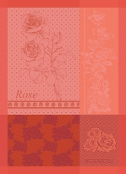 Rosa Pink Kitchen Towel - Retired
