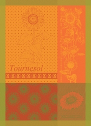 Tournesol Yellow Kitchen Towel - RETIRED- 1 available