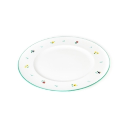 Alpine Flowers Gourmet Dinner Plate 10.75
