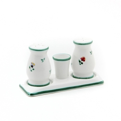Alpine Flowers Classic Salt  and  Pepper