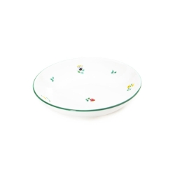 Alpine Flowers Coupe Soup Bowl
