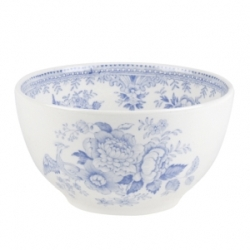 Blue Asiatic Pheasant Mini Footed Bowl